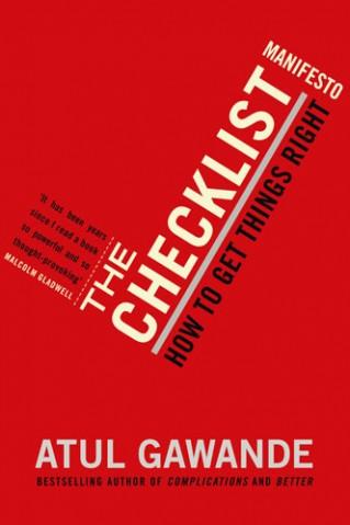 cover checklist manifesto